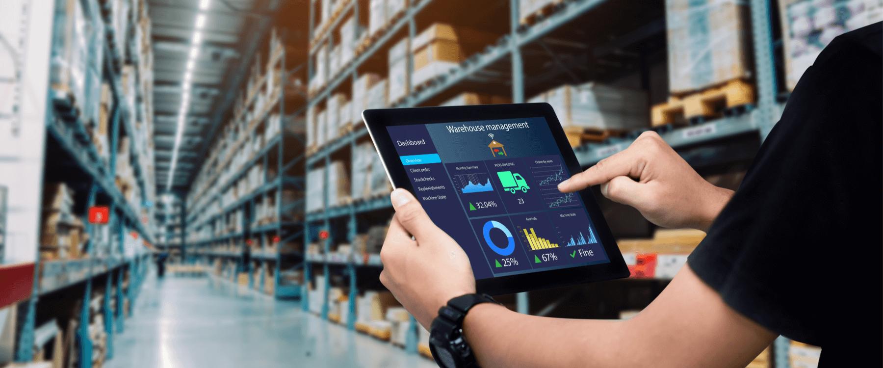 Készletoptimalizálás az elektronikai nagykereskedelemben.